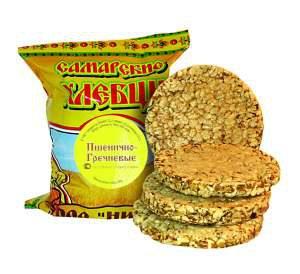 хлебцы Самарские -- пшенично-гречневые