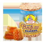 Самарский Здоровяк №88 вафли пшенично-медовые