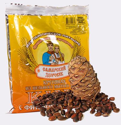 Самарский Здоровяк №57 с расторопшей, льном и кедровым орехом