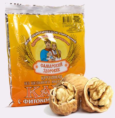 Самарский Здоровяк №70 с расторопшей, льном и грецким орехом