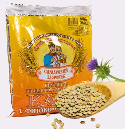 Самарский Здоровяк №76 пшенично-чечевичная